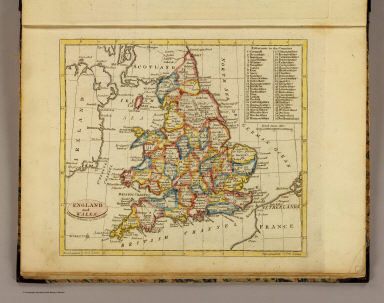 England and Wales. Published by J.V. Seaman, 296 Pearl St., N. York. (1821)