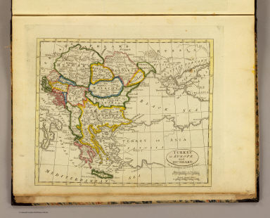 Turkey in Europe and Hungary. Published by J.V. Seaman, 296 Pearl St., N. York. (1821)