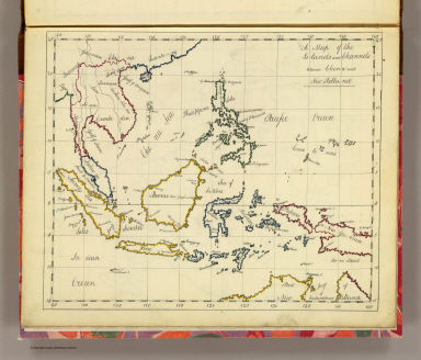 Islands: China-New Holland. / (Bowen, Frances) / 1810