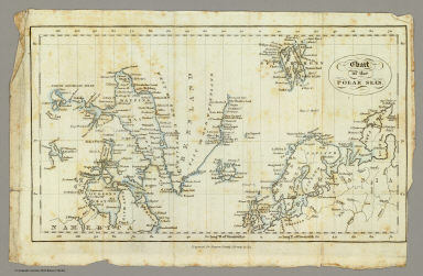 Chart of the Polar Seas. Engraved for Harpers Family Library, by (G.B.?) King. (185-?)