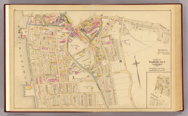 Yonkers wards 1-3. / (G.W. Bromley & Co.; Bromley, George Washington; Bromley, Walter Scott) / 1881