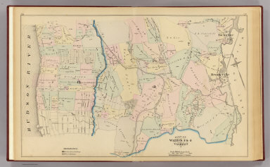 Yonkers wards 3-4. / (G.W. Bromley & Co.; Bromley, George Washington; Bromley, Walter Scott) / 1881