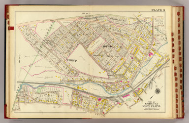 White Plains wards 1-2. / (Bromley, George Washington; Bromley, Walter Scott; G.W. Bromley & Co.) / 1910