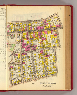 1 White Plains. / (G.W. Bromley & Co.) / 1914