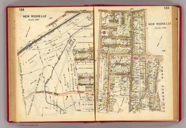 134-135 New Rochelle. / (G.W. Bromley & Co.) / 1914