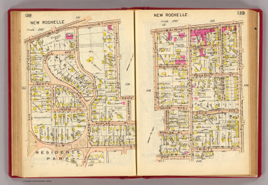 138-139 New Rochelle. / (G.W. Bromley & Co.) / 1914