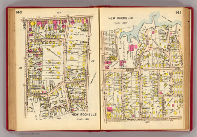140-141 New Rochelle. / (G.W. Bromley & Co.) / 1914