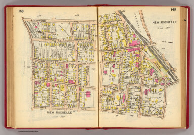 148-149 New Rochelle. / (G.W. Bromley & Co.) / 1914