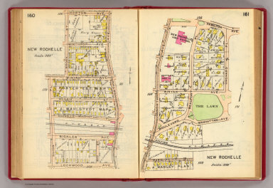 160-161 New Rochelle. / (G.W. Bromley & Co.) / 1914
