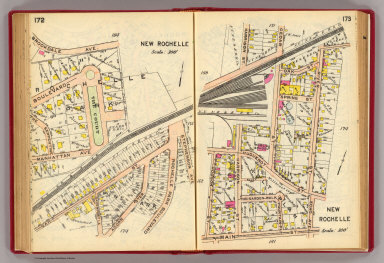 172-173 New Rochelle. / (G.W. Bromley & Co.) / 1914