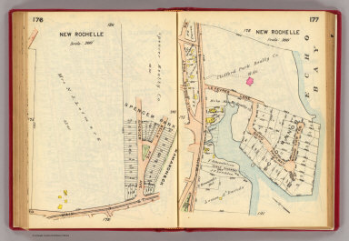 176-177 New Rochelle. / (G.W. Bromley & Co.) / 1914
