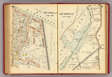 186-187 New Rochelle. / (G.W. Bromley & Co.) / 1914