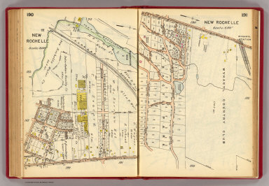190-191 New Rochelle. / (G.W. Bromley & Co.) / 1914