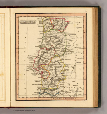 Portugal / (Thomas, Joseph, publisher); Fenner, Rest. / 1835