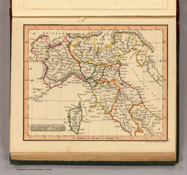 Northn. Italy. / (Thomas, Joseph, publisher); Fenner, Rest. / 1835