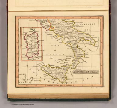 Southern Italy. / (Thomas, Joseph, publisher); Fenner, Rest. / 1835