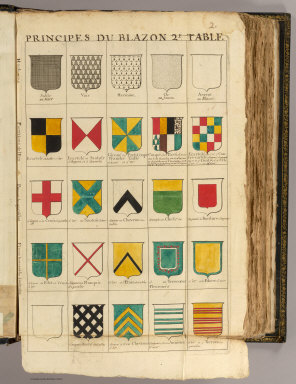 Principes du blazon 2. / (Dangeau, abbe de, 1643-1723) / 1693