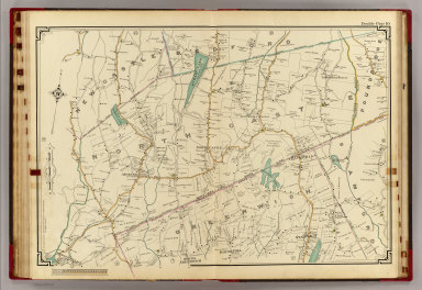10 Atlas rural country district north of New York City. / (Hyde, E. Belcher) / 1908