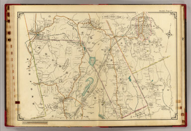 14 Atlas rural country district north of New York City. / (Hyde, E. Belcher) / 1908