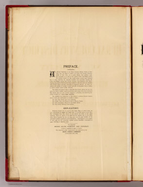 Preface: Atlas rural country district north of New York City. / Hyde, E. Belcher / 1908