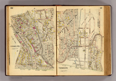 20-21 Yonkers. / (G.W. Bromley & Co.) / 1914