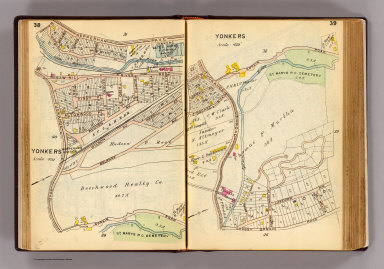 38-39 Yonkers. / (G.W. Bromley & Co.) / 1914