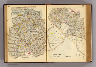 42-43 Yonkers. / (G.W. Bromley & Co.) / 1914