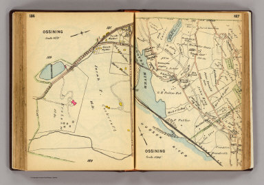 186-187 Ossining. / (G.W. Bromley & Co.) / 1914