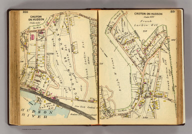 200-201 New Castle, Croton on Hudson. / (G.W. Bromley & Co.) / 1914