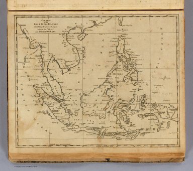 Chart of the East India Islands. Exhibiting the several passages, between the Indian and Pacific oceans. From Arrowsmith's map. (Boston: Published by Thomas & Andrews. 1812)