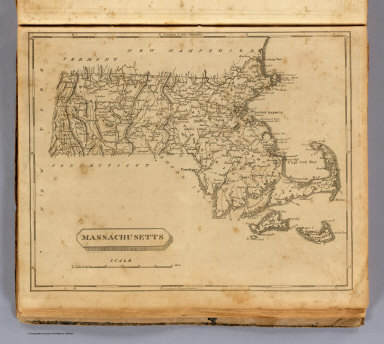 Massachusetts. Drawn by S. Lewis. (Boston: Published by Thomas & Andrews. 1812)