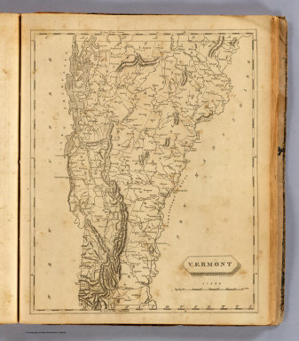 Vermont. Drawn by S. Lewis. Engd. by D. Fairman. (Boston: Published by Thomas & Andrews. 1812)