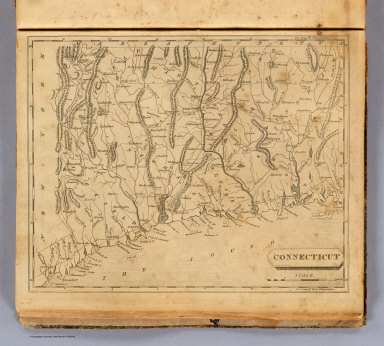 Connecticut. Drawn by S. Lewis. (Boston: Published by Thomas & Andrews. 1812)