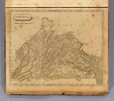 Virginia. S. Lewis del. (Boston: Published by Thomas & Andrews. 1812)