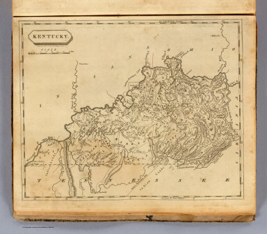 Kentucky. Drawn by S. Lewis & eng'd. by W. Harrison, Junr. (Boston: Published by Thomas & Andrews. 1812)