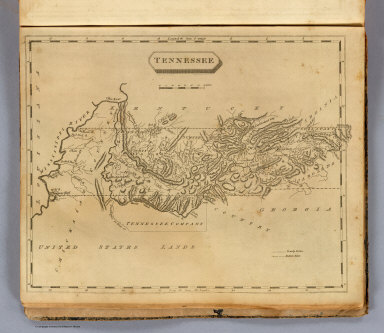 Tennessee. Drawn by S. Lewis. Engraved by Lawson. (Boston: Published by Thomas & Andrews. 1812)