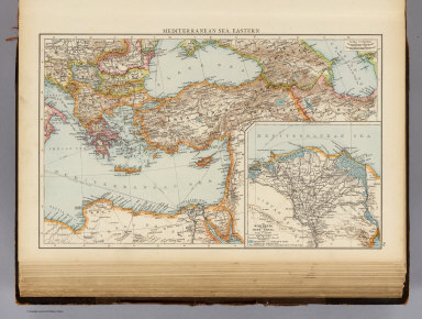 Mediterranean Sea E. / (Times (London, England); Andree, Richard) / 1895
