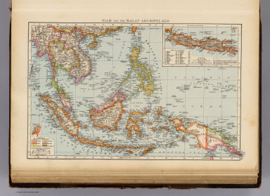 """Siam and the Malay Archipelago. (with) Java. (Published at the office of """"The Times,"""" London, 1895)"""