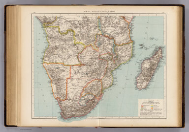 Africa, S. of Equator. / (Times (London, England); Andree, Richard) / 1895