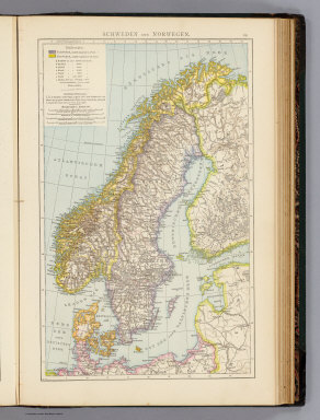 Schweden, Norwegen. / (Andree, Richard) / 1881