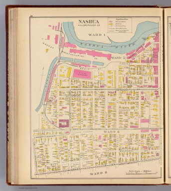 Nashua, Ward 1, 5-6, 8. / (D.H. Hurd & Co.) / 1892