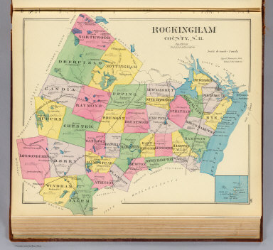 Rockingham County, N.H. / (D.H. Hurd & Co.) / 1892