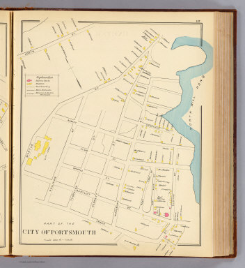 City of Portsmouth. / (D.H. Hurd & Co.) / 1892