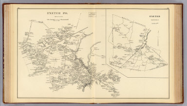 Exeter P.O., town of Exeter. / (D.H. Hurd & Co.) / 1892