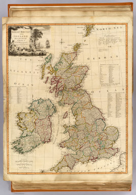 Gt. Britain, Ireland. / Kitchin, Thomas; Robert Laurie & James Whittle / 1794