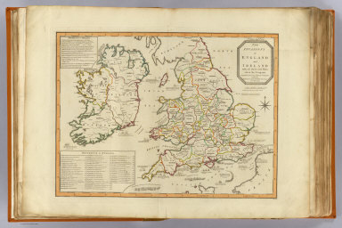 Invasions England, Ireland. / Enouy, Joseph Christopher; Robert Laurie & James Whittle / 1801