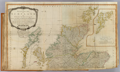 A new and correct map of Scotland or North Britain with all the post and military roads, divisions & ca. (North half). Drawn from the most approved surveys, illustrated with many additional improvements, and regulated by the latest astronomical observations by Lieutenant Campbell. (with) The islands of Shetland or Zetland, laid down on the same scale as the map. London, Published by Laurie & Whittle, No. 53 Fleet Street, as the act directs 12th May 1794.