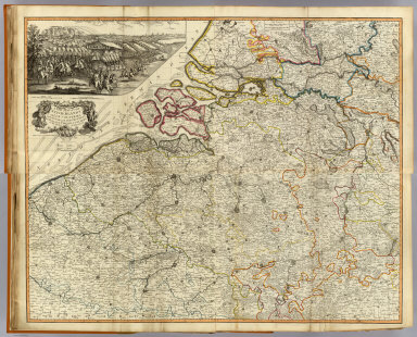 (Composite of) A new map of the Netherlands or Low Countries, with the south part of the provinces of Holland, Utrecht, & Gelders and the whole of Zeeland. Published 12th May 1794 by Laurie & Whittle, No. 53 Fleet Street, London.