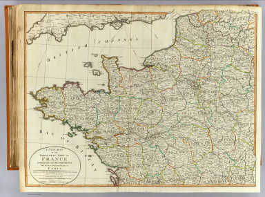 N.W. France. / (Kitchin, Thomas); Robert Laurie & James Whittle / 1802