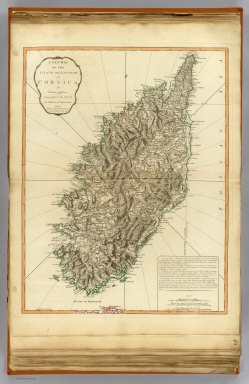 A new map of the island and kingdom of Corsica by Thomas Jefferys, Geographer to the King, with additions and improvements. London, Published by Laurie & Whittle, 53, Fleet Street, as the act directs 12th May, 1794